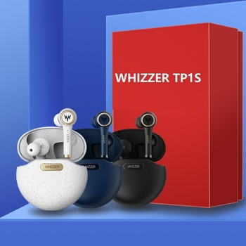 WHIZZER TP1S Upgrade  Head phones Bluetooth 5.0  Earphones 3D Stereo Wireless Earphones наушники беспроводные IPX5 Touch Control