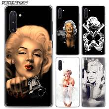 Phone Case for Samsung Galaxy Note 8 9 10+ 10 Plus S10 S20 A50 A70 51 A71 5G Cover Marilyn Monroe Cases Shell(China)