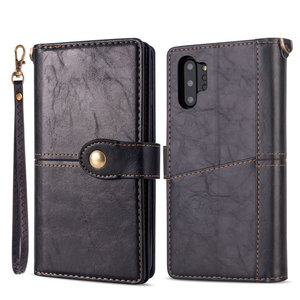 Image 2 - Multifunction Wallet Etui for Samsung Note 20 Ultra Case S 20 S10 S10e S9 S8 S20 Plus Flip for Samsung Galaxy Note 10 Case Coque