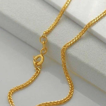 Yellow Gold Necklace Jewelry K-Gold Jewelry