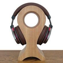 Headphone stand holder Wooden Hanger Wood fish shaped Headset Desk Display Head mounted Earphone Rack Bracket Fashion Newest 1pc
