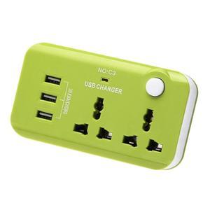 5V 10A UK Plug 3 USB Port Quic