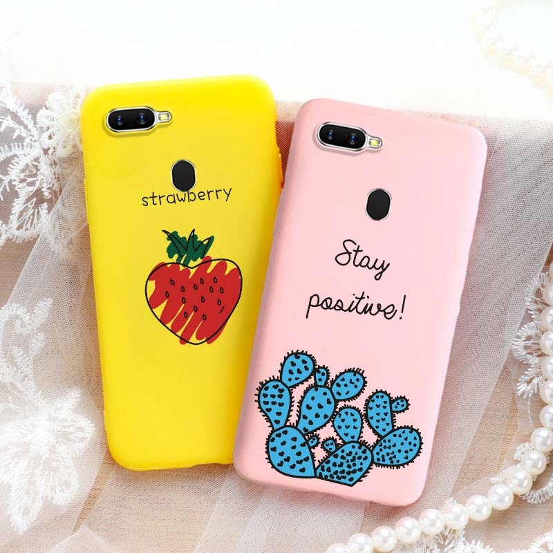 3D Cute <font><b>Phone</b></font> <font><b>Case</b></font> For <font><b>OPPO</b></font> A1k <font><b>A3S</b></font> A5S A5 A71 A83 F11 K3 Realme X Lite 5 XT X2 Reno Ace Z A5 A9 2020 Soft <font><b>Case</b></font> Back Covers image