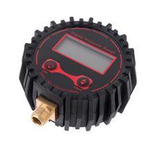 250PSI cyfrowy wskaźnik ciśnienia w oponach M11 * 1 gwint samochodów Tester ciśnienia ze światłem 85AC tanie tanio OOTDTY NONE 1 9 Cali i Pod CN (pochodzenie) 85AC9FF100635 DIGITAL 200 PSI i Powyżej