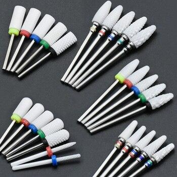 Timistory céramique foret à ongles électrique fraise à ongles pour manucure pédicure Nail Art Accessoires outil enlever le vernis à ongles