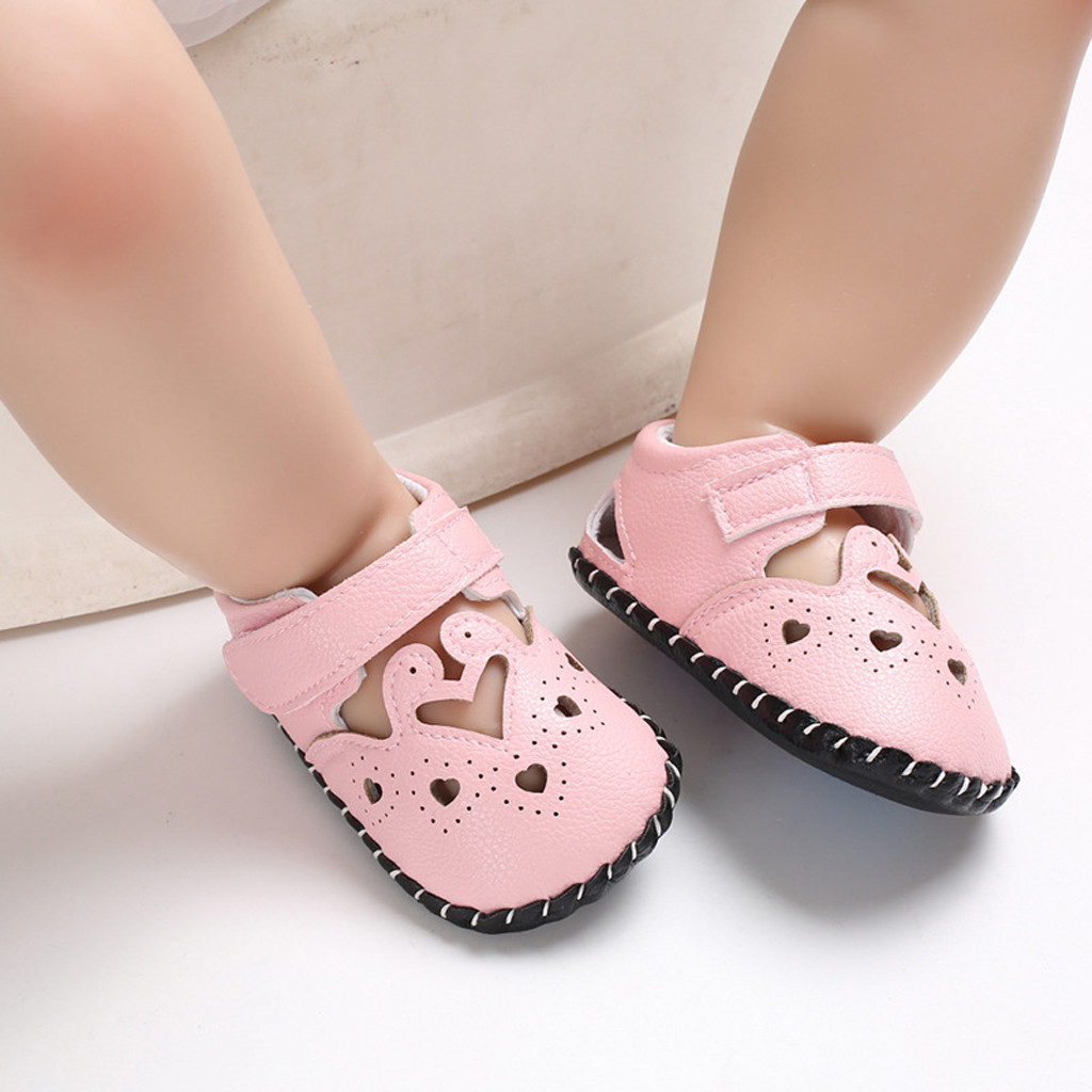 Goods MUQGEW Baby Summer First Walkers Good Anti-slip Soft Bottom Girls Boys Animal Decorative Soft Bottom  Non-Slip Baby  Shoes