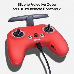Image 5 - Siliconen Cover Skin Case Voor Dji Fpv Afstandsbediening 2 Non Slip Rubber Beschermhoes Protector