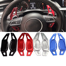 Novo volante do carro shifter paddle shifter para audi a5 s3 s5 s6 sq5 rs3 rs6 rs7
