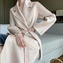 The New Fashion Autumn Winter Overcoat 100% Merino Wool Ladi