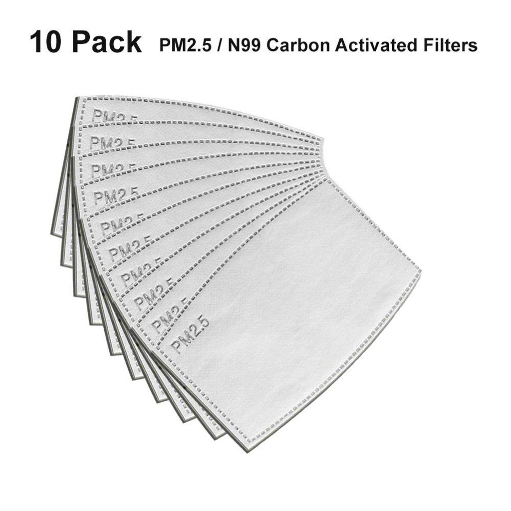 In Stock 10x Activated Carbon Filter Replaceable Haze Filter Paper For Filter Non-woven Activated Carbon Filter Respirator#E20