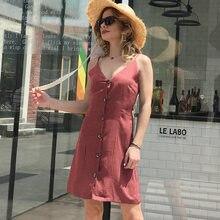 Venda de fábrica sexy vestido de festa feminina verão profundo decote em v sem costas sem mangas chiffon vestido de impressão