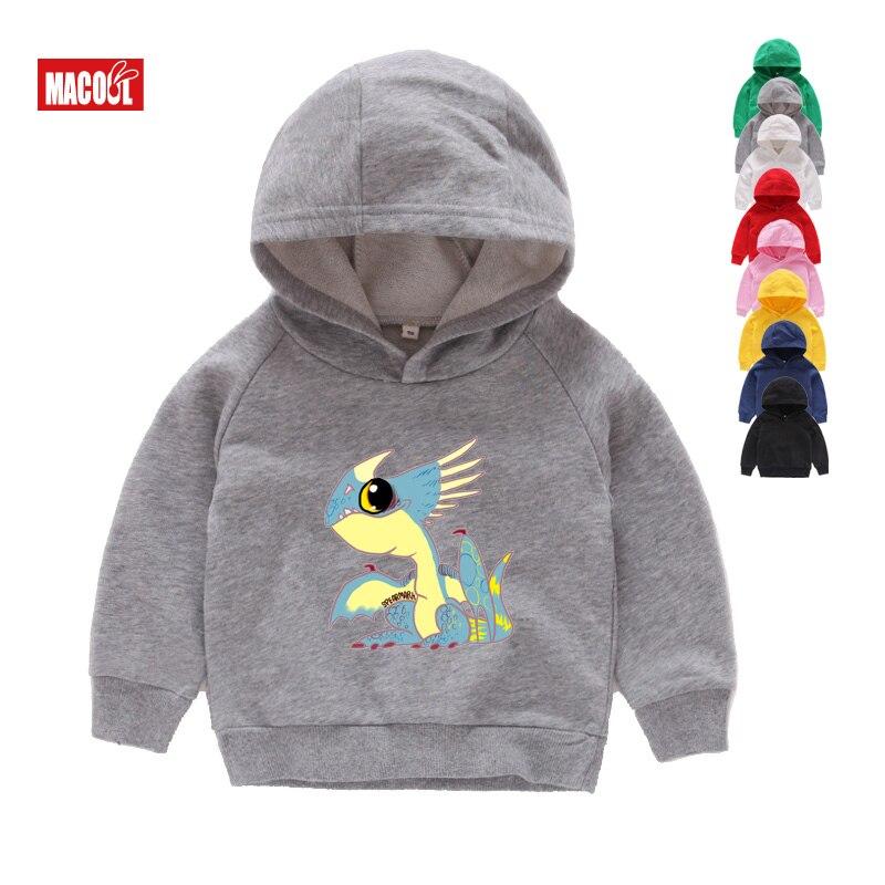 Boys Girls How To Train Your Dragon Toothless Cartoon Print Hoodies Sweatshirts Kids 3T