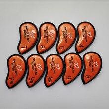Golf-Clubs-Cover Orange MASTER PU for Irons 456789pas/Orange/Pu/.. EMS Brand-New
