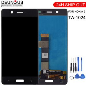 New phone screen panel For Nokia 5 TA-1024 TA-1027 TA-1044 TA-1053 LCD Display Touch Screen Glass Digitizer Assembly Replacement(China)