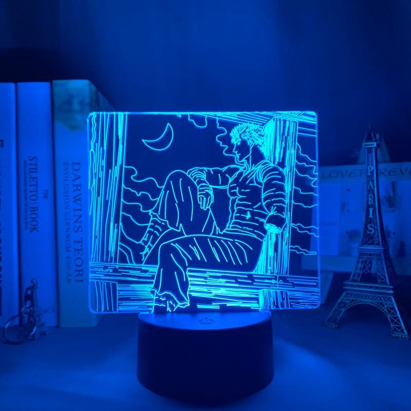 H7467a04b05c144e7bf6151f725d29375F Luminária Anime led night light berserk tripas para quarto deco presente colorido nightlight manga 3d lâmpada berserk tripas