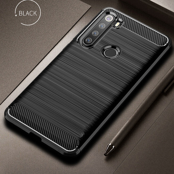 For Xiaomi Redmi Note 8 T Case Flex Carbon Fiber Cover Full Protection Phone Case For Redmi Note 8 8T Cover Shockproof Bumper 1