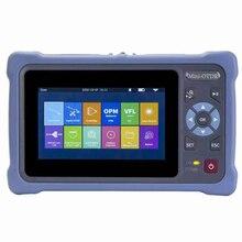 980MAS אופטי OTDR בודק סיבי מכשיר עם OPM OLS VFL RJ45 מגע מסך רב פונקציות SC FC מחברים Reflectometer