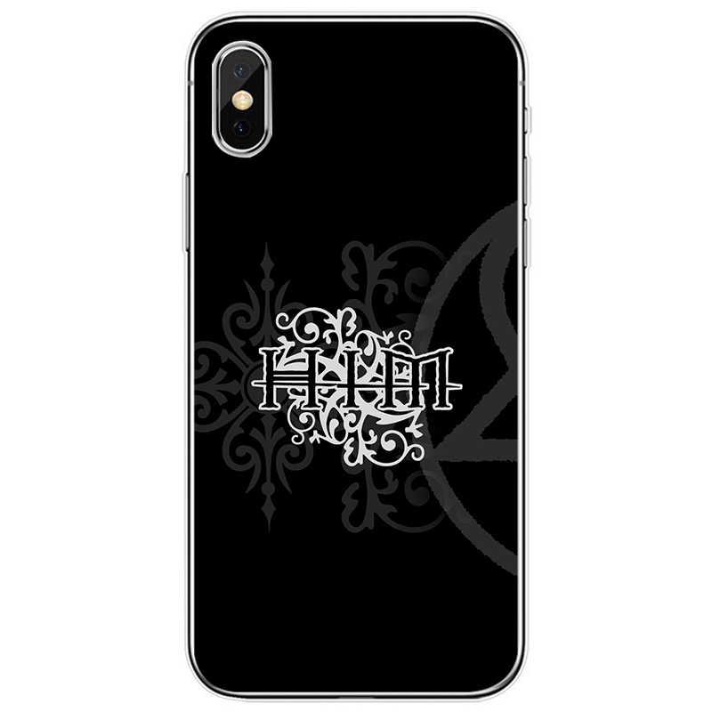 Thời trang Ông Heartagram Logo Tế Bào Bao Da Silicone Mềm Điện Thoại TPU Cho iPhone SE 5 5S 6 6 Plus 7 8 Plus X XR XS Max