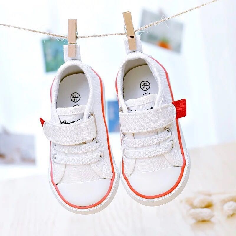 Baby Shoes Girls Children Canvas Shoes Breathable Kids Sneakers For Girls Baby Boys Flat Child Casual Shoes Toddler Size 18-30