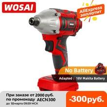 WOSAI – tournevis électrique sans balais, batterie 300nm, perceuse à percussion, pilote d'impact pour batterie au Lithium 18V Makita
