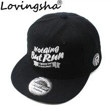 LOVINGSHA Boy Baseball Caps Letter Design 3-8 Years Old Kid Snapback Caps High Qaulity Adjustable Cap  For Girl  CC085