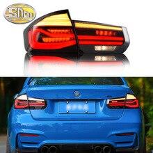 Auto Styling Tatilights Voor Bmw F35 F30 318i 2013 2017 Led achterlicht Led Rear Fog Lamp Drl + rem + Reverse + Richtingaanwijzer Lamp