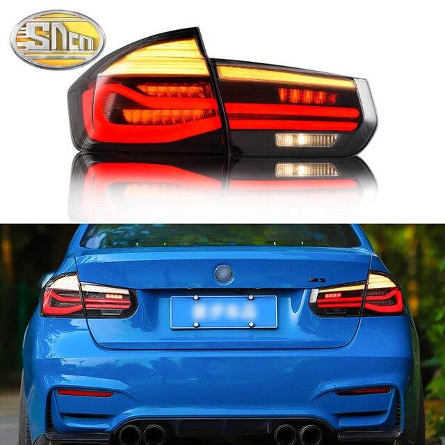 Car Styling Tatilights for BMW F35 F30 318i 2013 2017 LED Tail Light LED Rear Fog Lamp DRL + Brake + Reverse + Turn Signal Lamp
