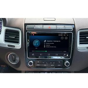 """Image 2 - New Porduct 8""""Head unit Android 10 Auto Car Radio Stereo For Volkswagen VW Touareg Multimedia Carplay Cassette Tape Recorder"""