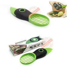 3 In 1 Avocado Slicer Peeler Cutter Tools Multifunctional As A Splitter Pitter Knife Peeler Scoop Fruit Tools For Kitchen Gadget(China)