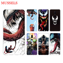 Venom Marvel Cool Phone Back Case for OnePlus 7 Pro 6 6T 5 5T 3 3T 7Pro Art Gift Patterned Customized Cover Coque Capa