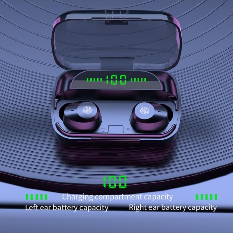 Новая индивидуальная модель TWS Bluetooth-гарнитуры, беспроводная бинауральная спортивная водонепроницаемая мини-гарнитура OEM in-Ear 5,1
