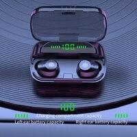 Auriculares TWS inalámbricos por Bluetooth, Mini auriculares deportivos binaurales resistentes al agua OEM, modelo privado, 5,1