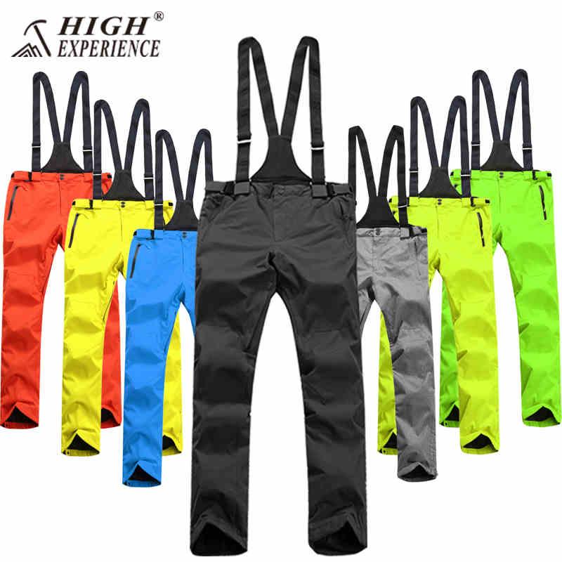 Winter Men's Ski Pants Men's Snow Pants Waterproof Snowboard Pants Men Thicken Winter Pants Men Thermal Skiing Trousers Male