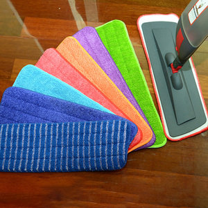 Flat Mop Replacement Pad Adhesive Mop Head Accessory Household Absorbent Mopping Cloth
