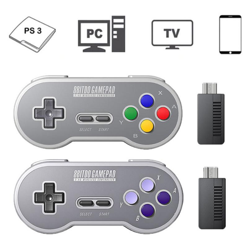8Bitdo SN30/SF30/ SN30 PRO/SF30 PRO 2.4G Wireless Game Gamepad Controller For NES SNES SFC Classic Edition