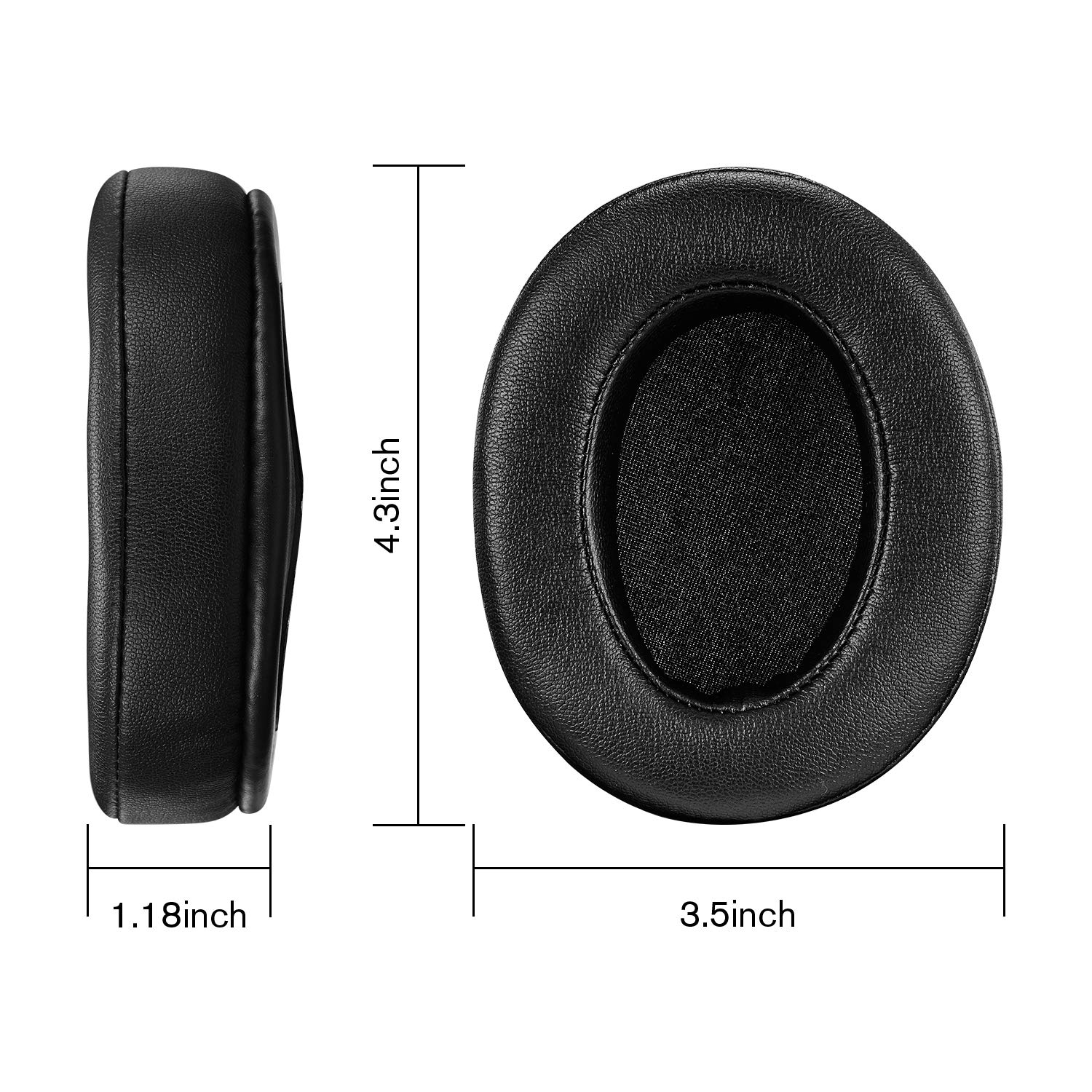 Ear Pads Ear Cushion Replacement for Audio Technica ATH M50X M50 M40X M40 Turtle Beach HyperX Sennheiser and More in Earphone Accessories from Consumer Electronics