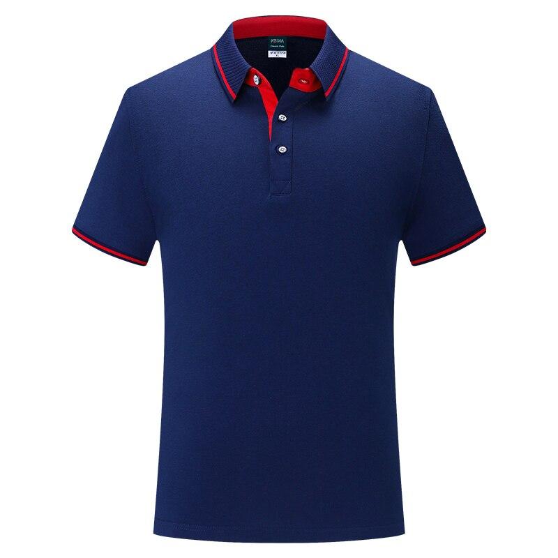 2020 Personalized Customize Men Polo Shirt Short Sleeve Advertising Polo Shirt A156 Street Wear