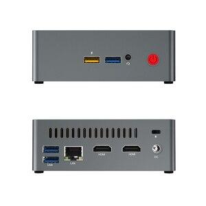 Image 4 - Beelink J34 win 10 Mini PC intel J3455 2.3GHz 8GB DDR3 128GB SSD windows 10 bilgisayar linux NUC ubuntu masaüstü bilgisayarlar
