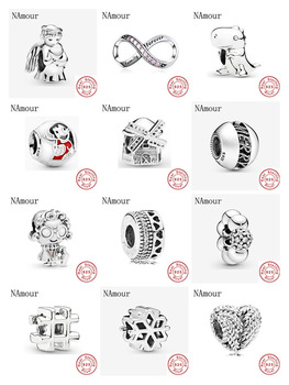 New Angel Of Love Windmill Diy Fine Bead Fit Original Pandora Charms 925 Sterling Silver Bracelet For Women Fashion Jewelry