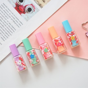 Image 2 - 4 set/Lot Mini bottle color Highlighter pens Lipstick flower daisy marker liner pen Stationery office School drawing art A6827