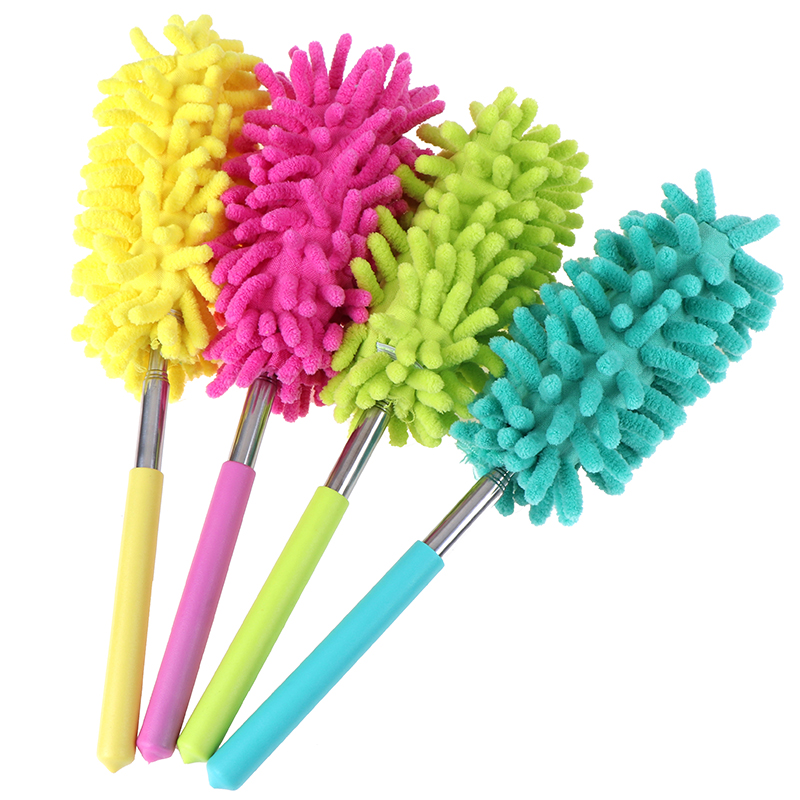 Home Air-condition Telescopic Cleaning Brushes Microfiber Duster Brush