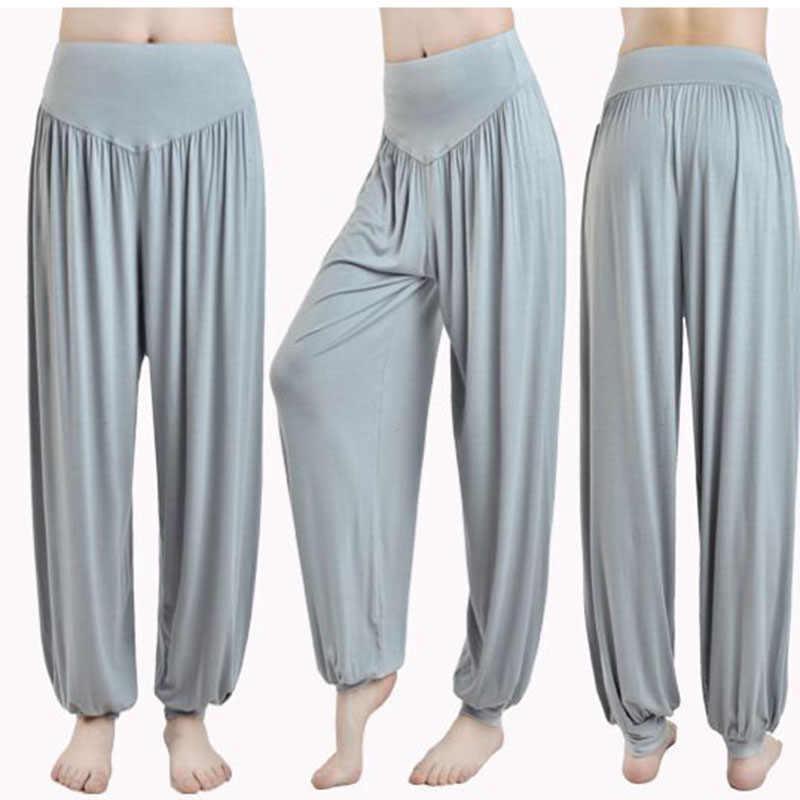 Pantalones De Yoga Holgados Para Mujer Pantalon Largo Para Yoga Baile Gimnasio Pantalones Suaves De Casa Entrenamiento Correr Ejercicio Gimnasio Pierna Pantalones De Yoga Aliexpress