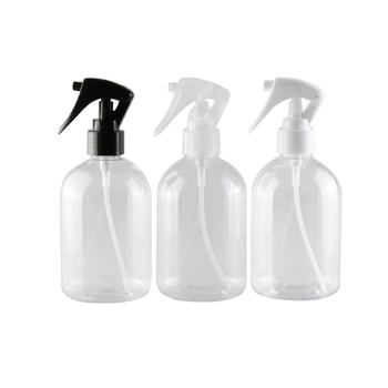 6Pcs 330ml Transparent Leak Proof Refill Empty Cosmetics Water Mist Spray Bottle Moisture Atomizer Disinfection Tools Sprayer