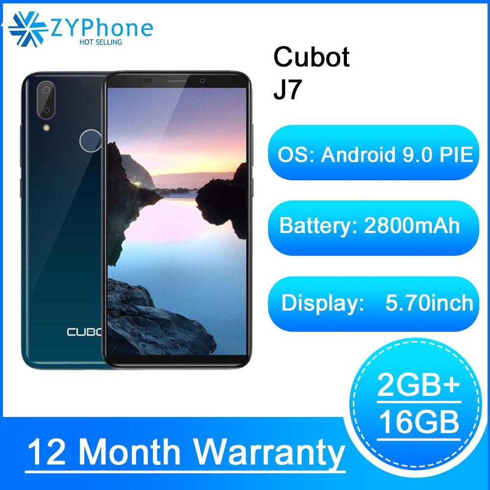 Cubot J7 Cellphone 5.7