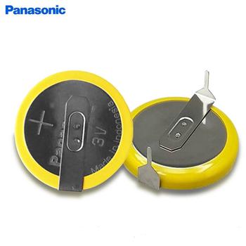 10 sztuk partia Panasonic CR2032 3V przycisk baterii H typ poziomy z 2 szpilki lutownicze CR 2032 baterie litowe komórki tanie i dobre opinie 200mah 20 0*6 0*0 77mm Li-ion