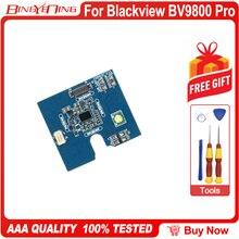 100% piezas de repuesto de tablero pequeño de carga inalámbrica nuevo y Original para teléfono móvil Blackview BV9800 Pro de 6,3 pulgadas