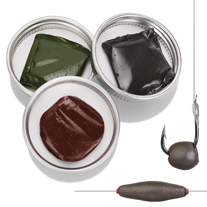 15g Carp Fishing Accessories Soft High Purity Tungsten Mud Lead Weights Terminal For Fishing Sinker
