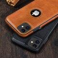 Einfarbig PU Leder Telefon Fall Für iPhone 12Pro 11 12 Pro Max XR XS Max X 7 8 6 plus 12Mini 11Pro Max 11 Dünne Weiche Rückseitige Abdeckung