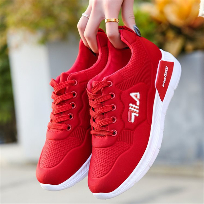 Fashion Mesh Breathable Ladies Casual Shoes New Arrival Sneakers Tenis Feminino Outdoor Lightweight Ladies Sneakers
