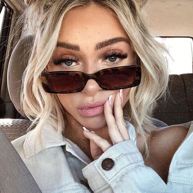 Small Rectangle Sunglasses for Women